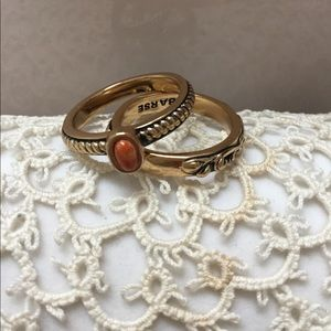 Bronze Stacking Rings By Barse